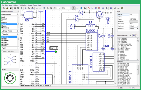 Diptrace PCB Design software
